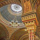 Czech Republic. Prague. Spanish Synagogue. Interior. Detail. by vadim19