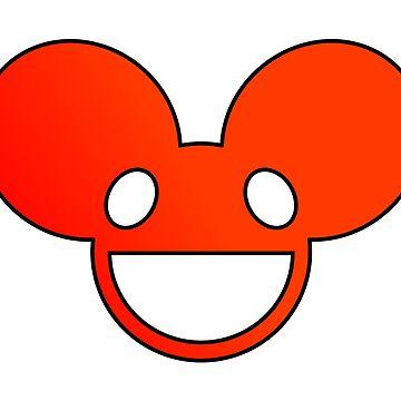 Deadmau5 Logo - Red by mullelito