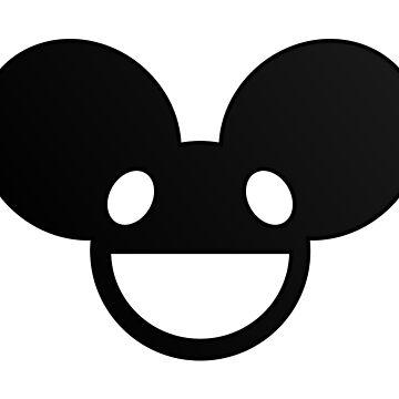 Deadmau5 Logo - Black by mullelito