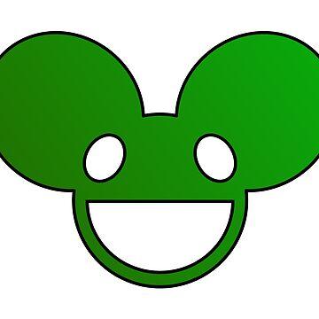 Deadmau5 Logo - Green by mullelito