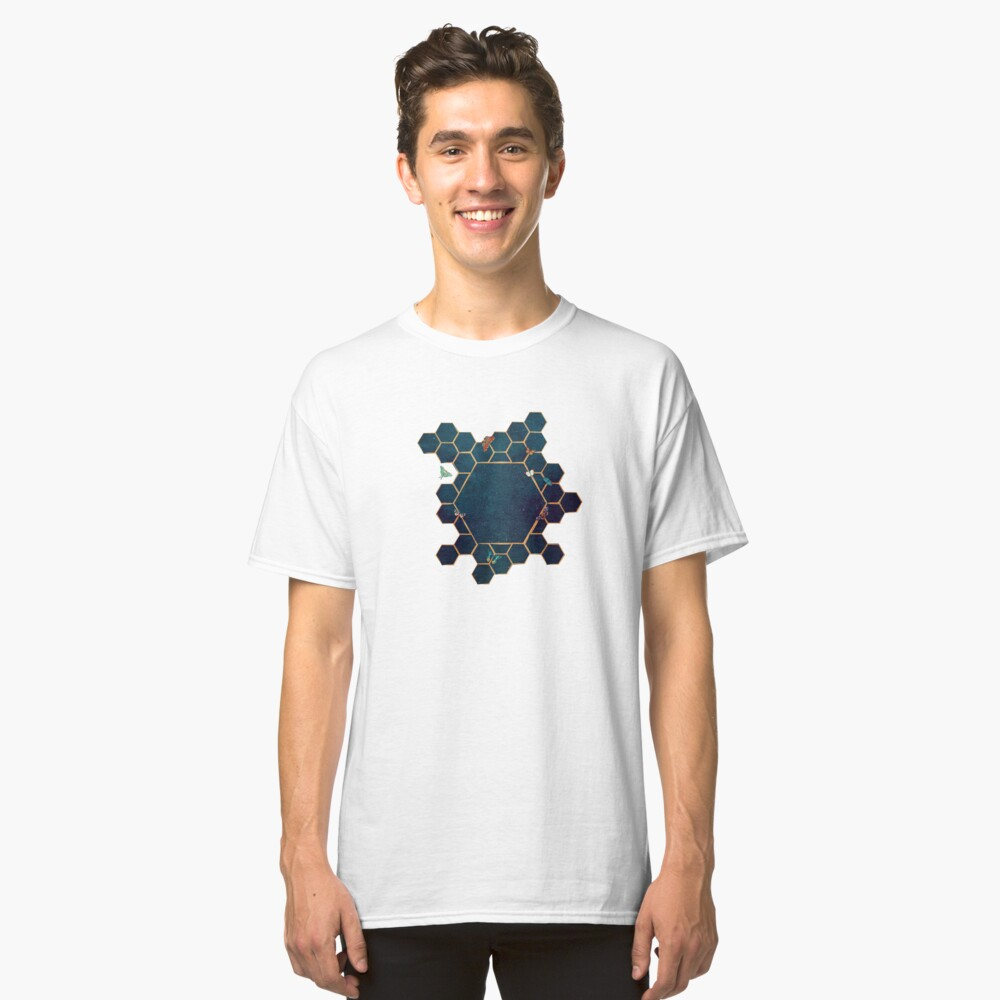 Butterfly invasion Classic T-Shirt