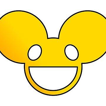 Deadmau5 Logo - Yellow by mullelito