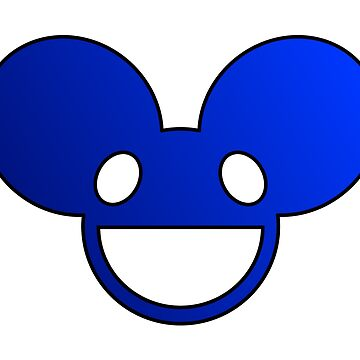 Deadmau5 Logo - Blue by mullelito