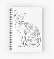 Cat sphinx Spiral Notebook