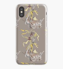 wood thrush and witch hazel colour iPhone Case/Skin