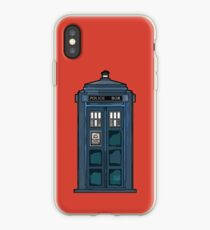 Police Public Call Box iPhone Case