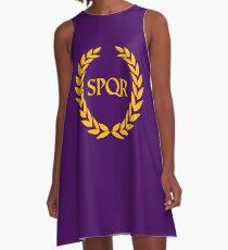 Camp Jupiter - SPQR A-Line Dress