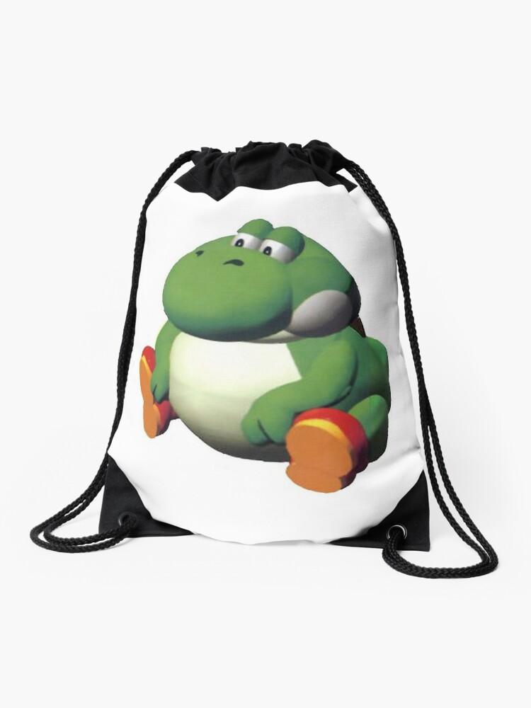 Fat Yoshi Drawstring Bag By Vanobras Redbubble
