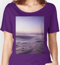 Ibiza Mediterranean chill out sunset sea water Hasselblad analog medium format film photo Loose Fit T-Shirt
