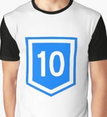 Route 10 (Uruguay) Graphic T-Shirt