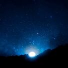 Nightsky In Africa Blue Theme by hurmerinta