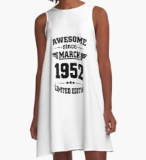 Awesome since March 1952 A-Line Dress