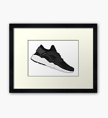 Nike Air Huarache Framed Print