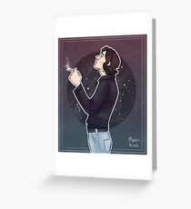 star boy (separate) Greeting Card