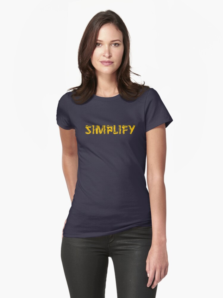 Simplify Womens T-Shirt Front