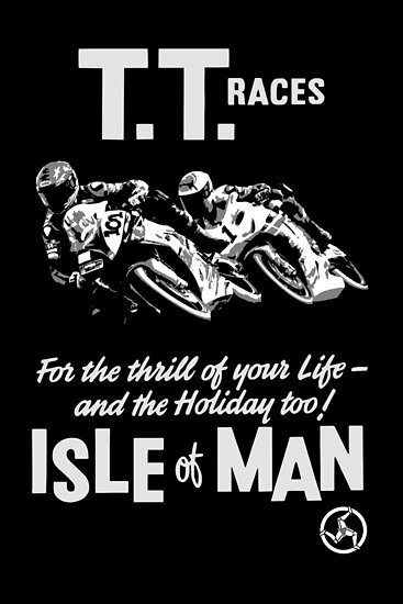isle of man tt posters by biggeek redbubble. Black Bedroom Furniture Sets. Home Design Ideas