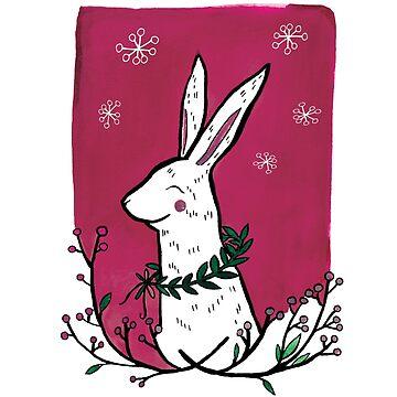 Winter Bunny by VeeraNoir