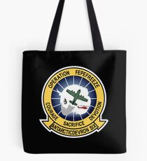Operation Deep Freeze Parody Patch Tote Bag