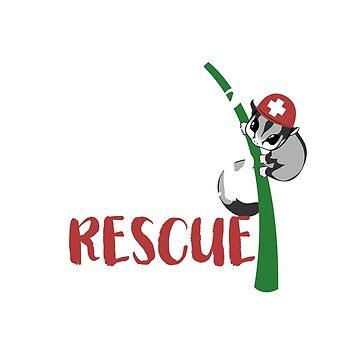 Sugar Glider Rescue T-Shirt by SummitCompany