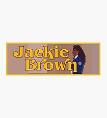 Quentin Tarantino Jackie Brown Photographic Print