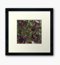 marauders grass Framed Print