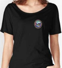 Space Mission Parody Patch No. 4 Women's Relaxed Fit T-Shirt