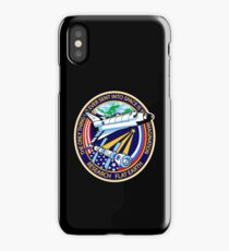 Space Mission Parody Patch No. 4 iPhone Case