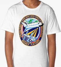 Space Mission Parody Patch No. 4 Long T-Shirt