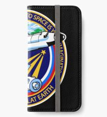 Space Mission Parody Patch No. 4 iPhone Wallet/Case/Skin