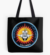 Space Mission Parody Patch No. 5 Tote Bag
