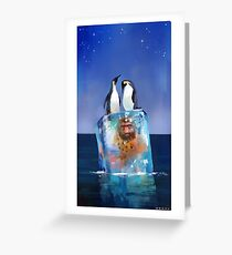 Icy Situation Greeting Card