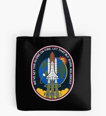 Space Mission Parody Patch No. 6 Tote Bag