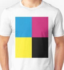 CMYK Palette Unisex T-Shirt