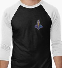 Space Mission Parody Patch No. 7 Men's Baseball ¾ T-Shirt