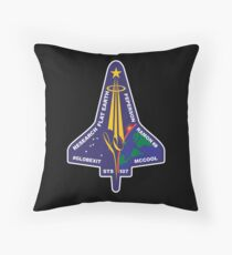 Space Mission Parody Patch No. 7 Floor Pillow