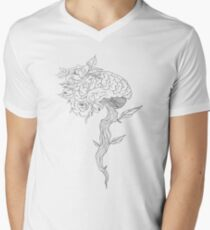 GROWTH OF MIND Men's V-Neck T-Shirt