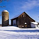 Winter Farm by BigD