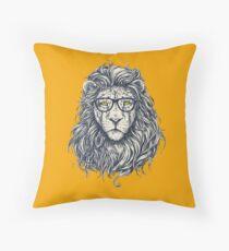 Hipster Lion Design Floor Pillow