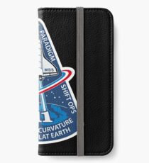 Space Mission Parody Patch No. 10 iPhone Wallet/Case/Skin