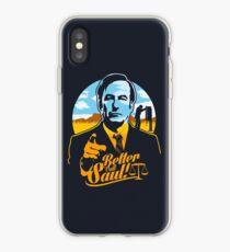 Ruf lieber Saul an iPhone-Hülle & Cover