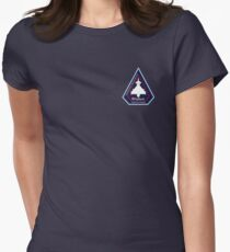 AirSpace Mission Parody Patch No. 12 Women's Fitted T-Shirt