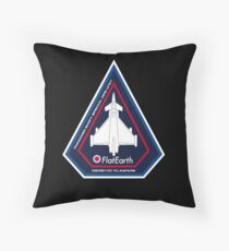 AirSpace Mission Parody Patch No. 12 Throw Pillow