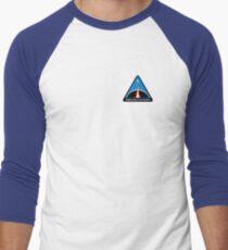 Space Mission Parody Patch No. 8 Men's Baseball ¾ T-Shirt