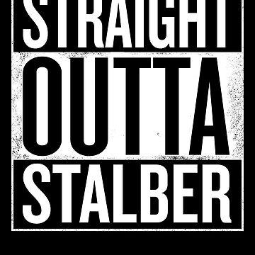 Pubg Merch Straight Outta Stalber by overclock360