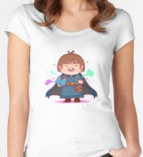 Kawaii Scholar Mage Women's Fitted Scoop T-Shirt