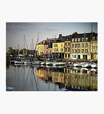 Honfleur Harbour, France Photographic Print