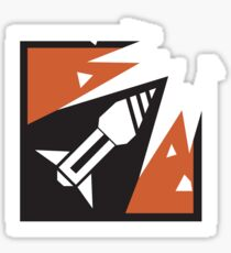 Rainbow Six Siege - Ash Icon Sticker