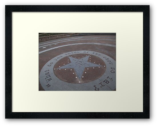 eric morecambe tribute star by carol oakes