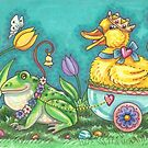 FROG AND EASTER DUCK PRINCE  by Susan Brack