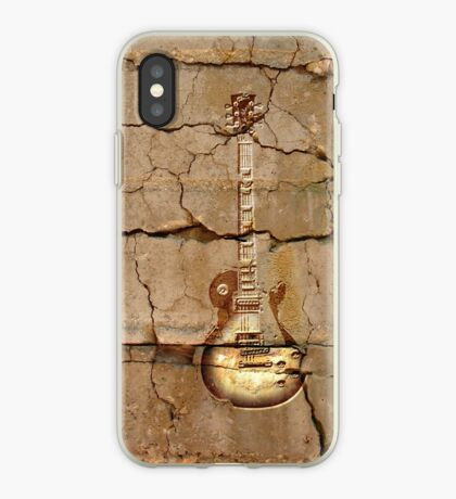 guitar cracks iPhone Case